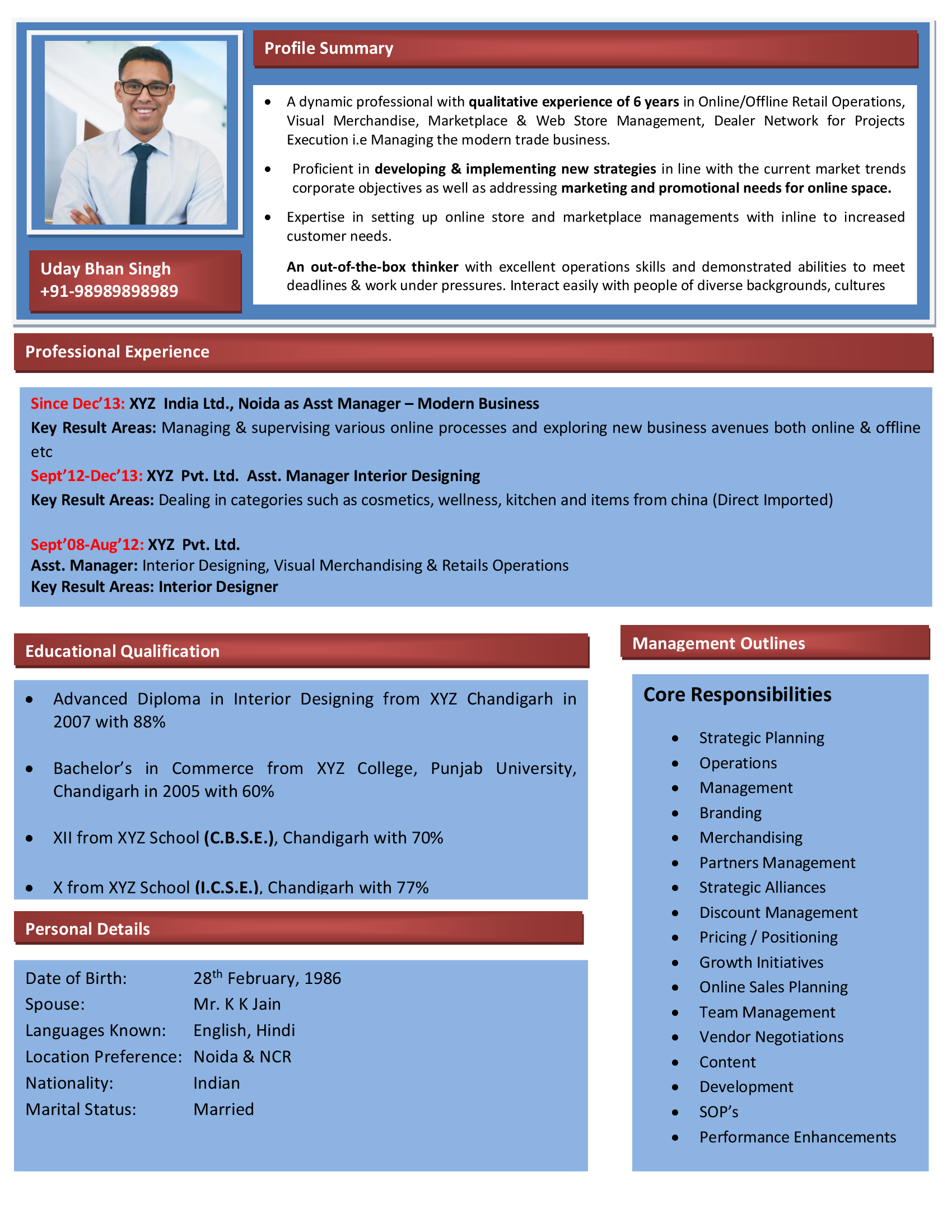 SEO Executive Resume | SEO Executive Resume Format | SEO Executive ...