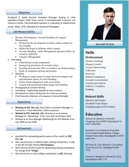 Resume Samples | Free Resume Samples - Resume Samples Download