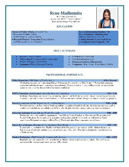 Resume Samples  Free Resume Samples  Resume Samples Download