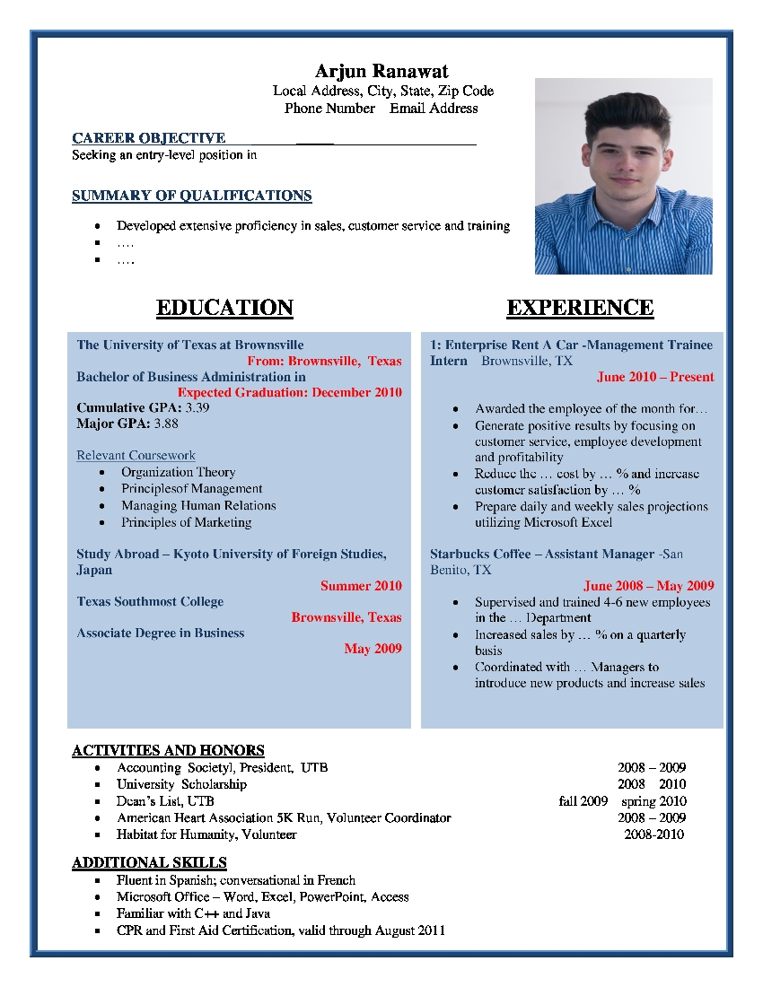 SEO Executive Resume | SEO Executive Resume Format | SEO Executive ...